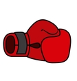 boxing gloves isolated icon design vector image