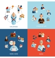 Stages Of Life Set vector image