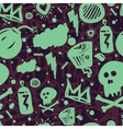 Graffiti Seamless Pattern Color vector image