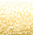 Blurred Gold Background vector image
