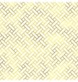 seamless geometric textured golden pattern vector image vector image