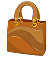 handbags on white background vector image vector image