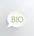 BIO vector image