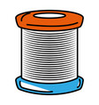 sewing thread roll icon vector image