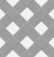 Monochrome background of diagonal pattern vector image vector image