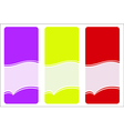 labels icon vector image vector image