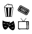 Cinema icon design vector image