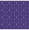 Shiny star night vector image