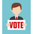democratic election vector image