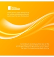Abstract orange wind vector image