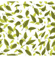 seamless texture of green leaves vector image