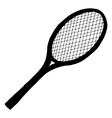 tennis bat vector image
