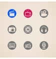 flat icons for web and mobile applications with vector image