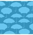 Seamless pattern with umbrellas for background vector image vector image