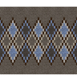 Seamless Jacquard Knitted Pattern vector image vector image