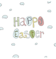 easter card handdrawn vector image