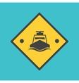 speedboat vector image