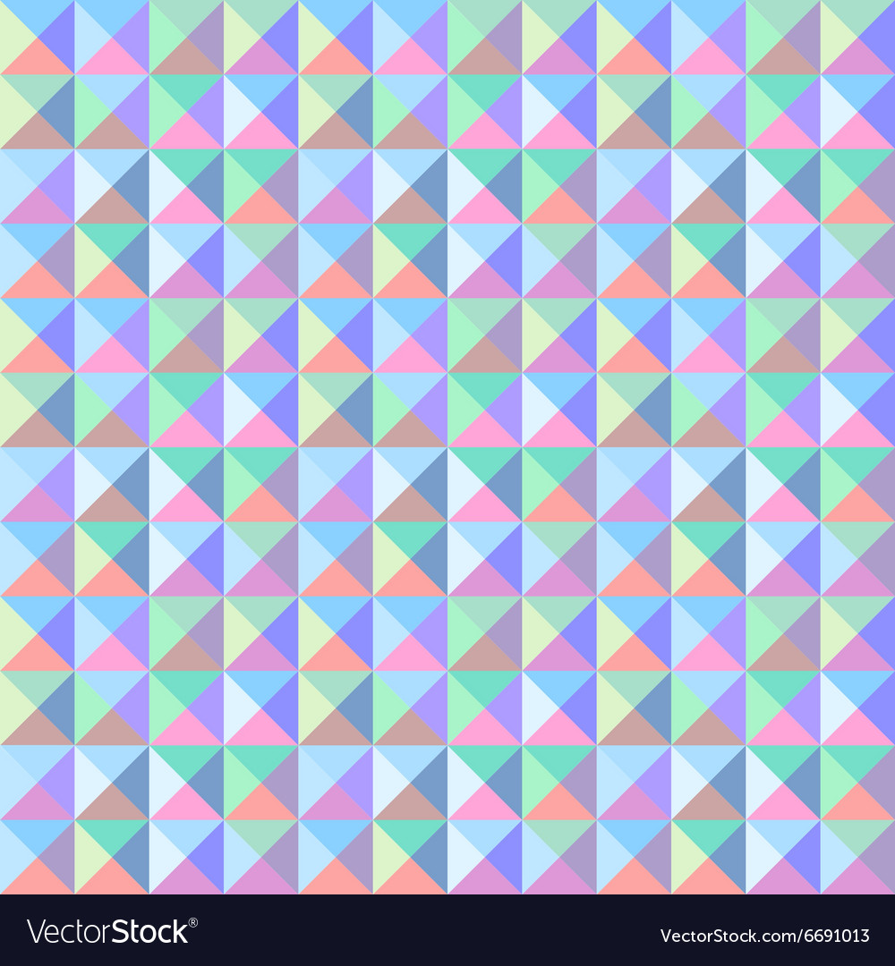 Colorful triangle pattern1 vector