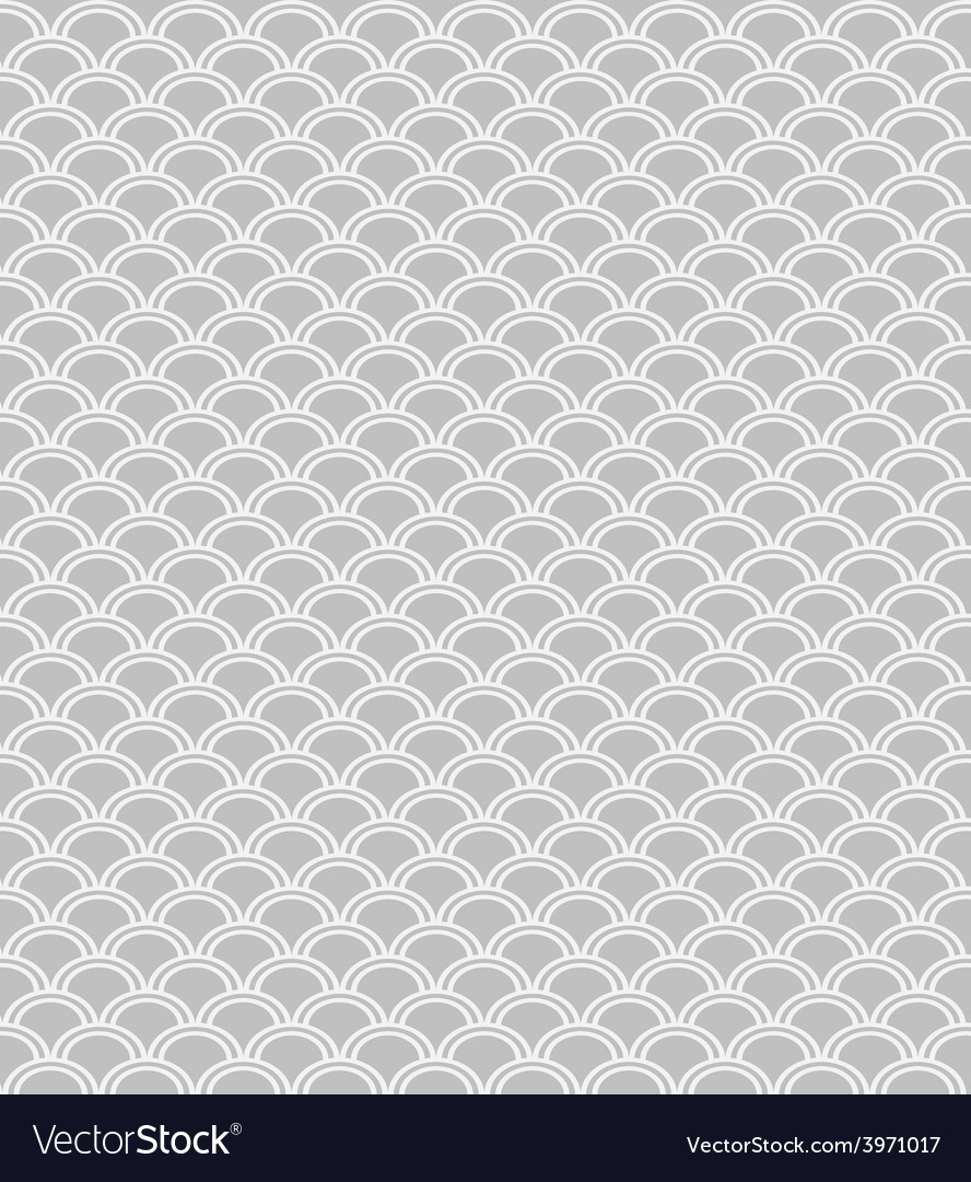 Wave endless seamless pattern vector