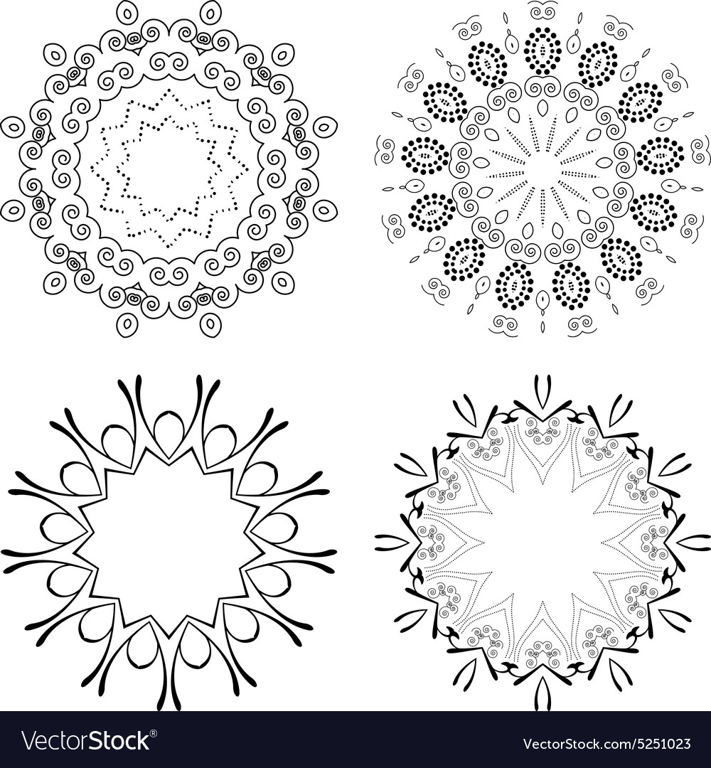 Outline emblems badges abstract hipster logo vector