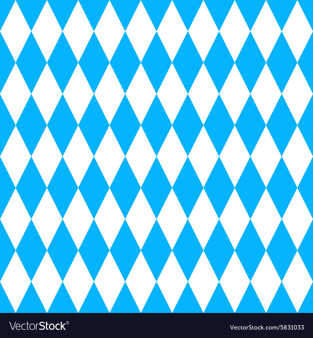 Oktoberfest blue pattern vector