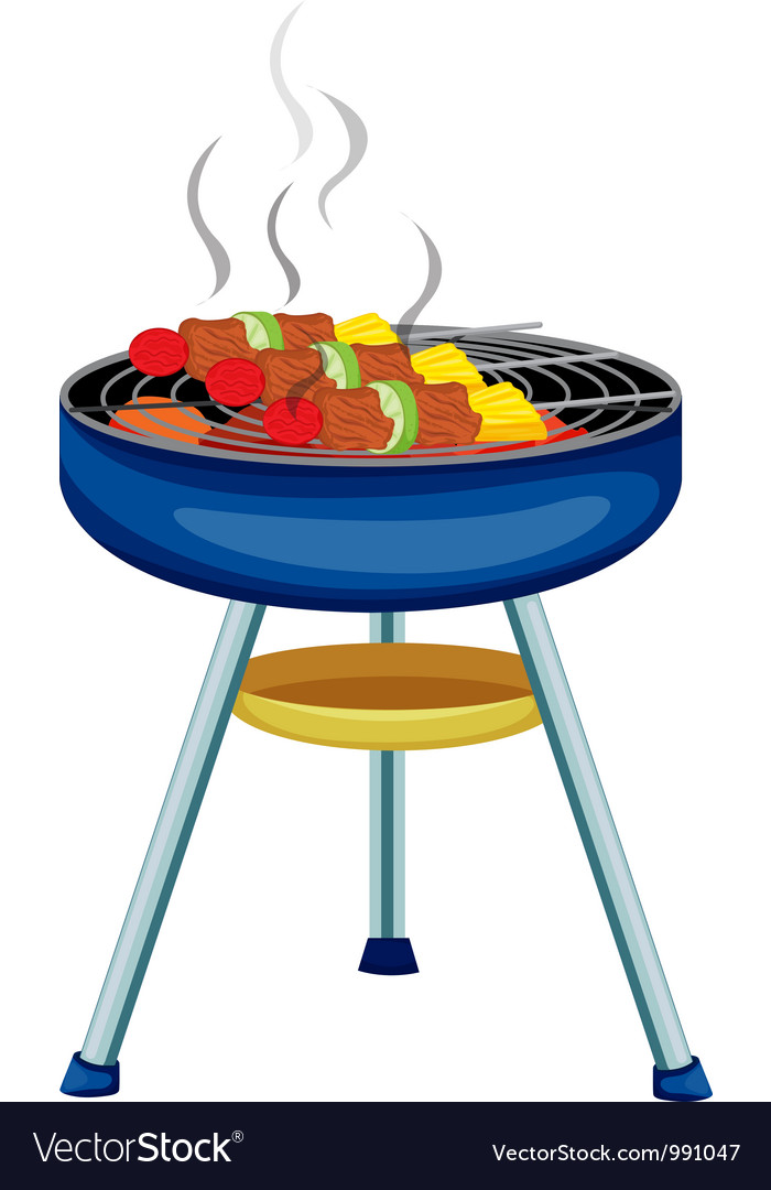 Bbq grill vector