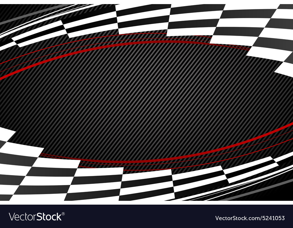 Racing background vector