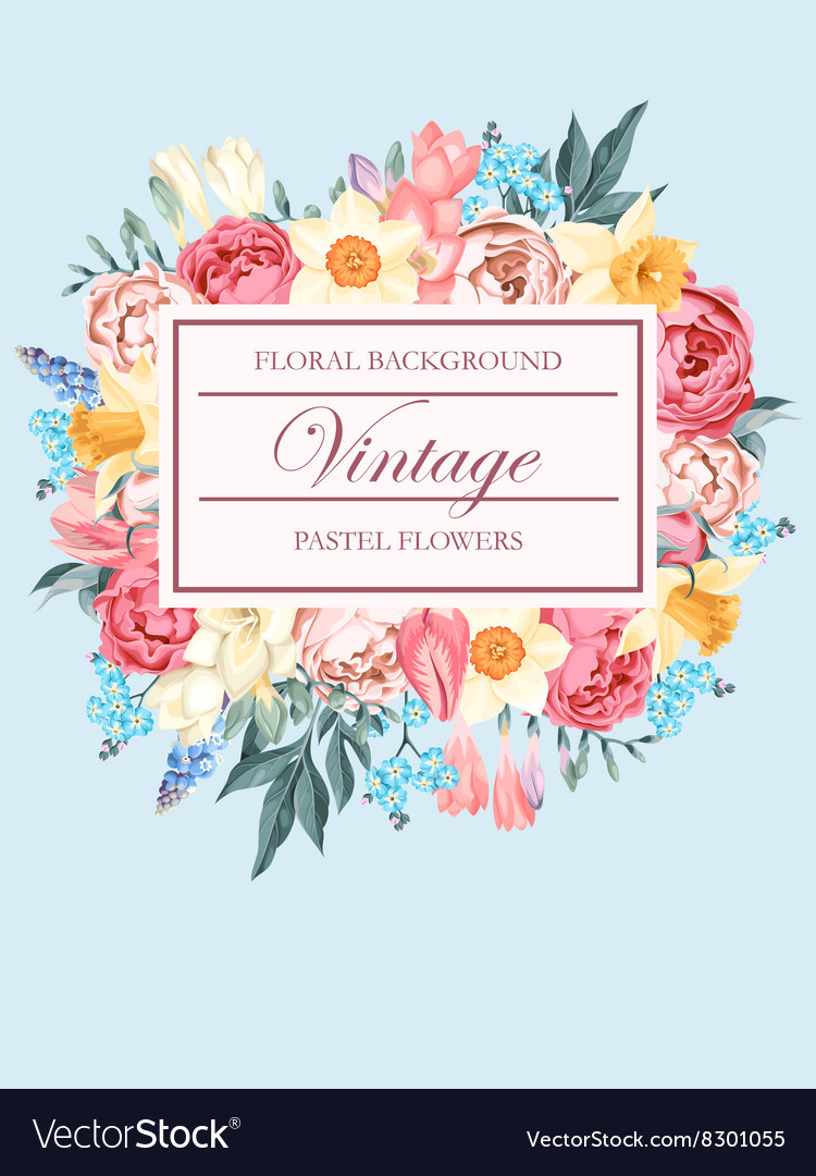 Shabbychic background vector