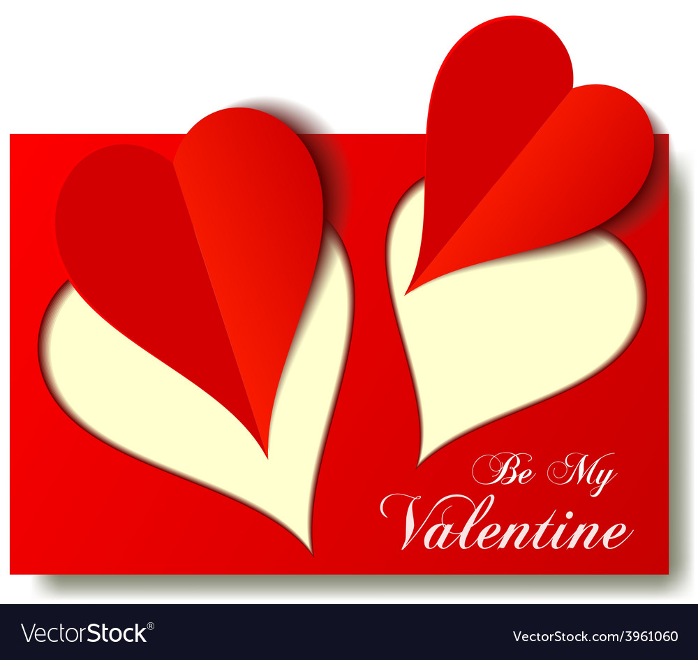 Valentine love hearts for any occasion vector