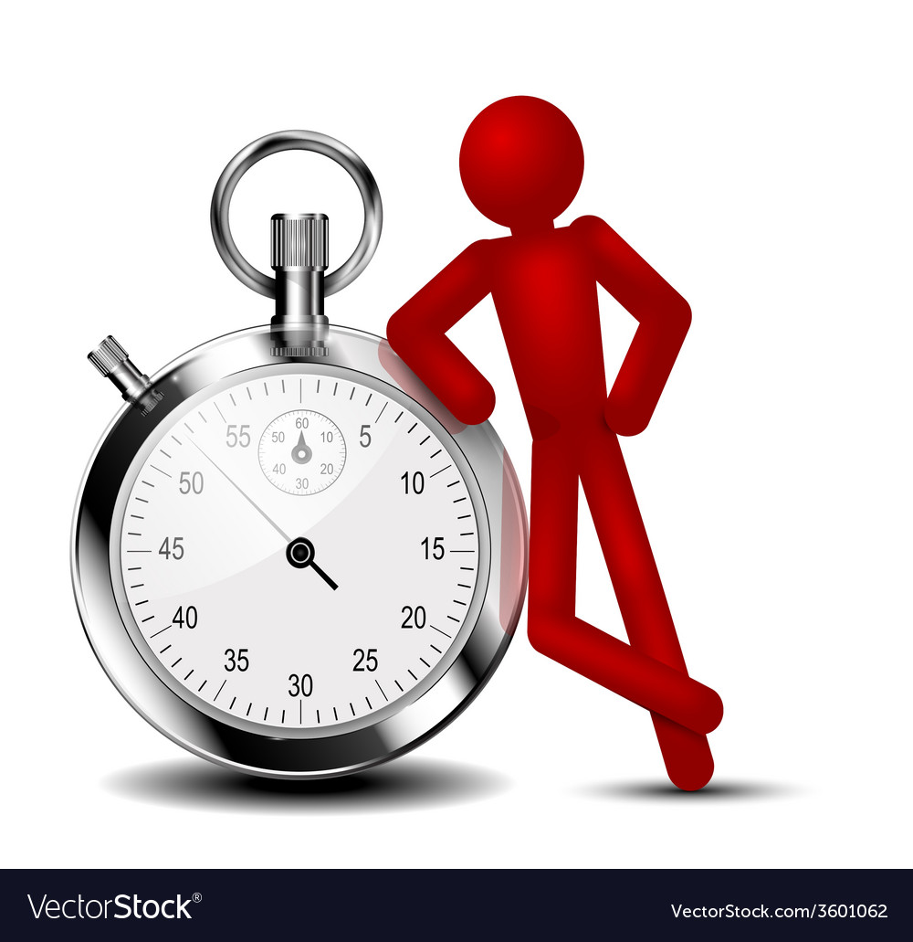 Time management background vector