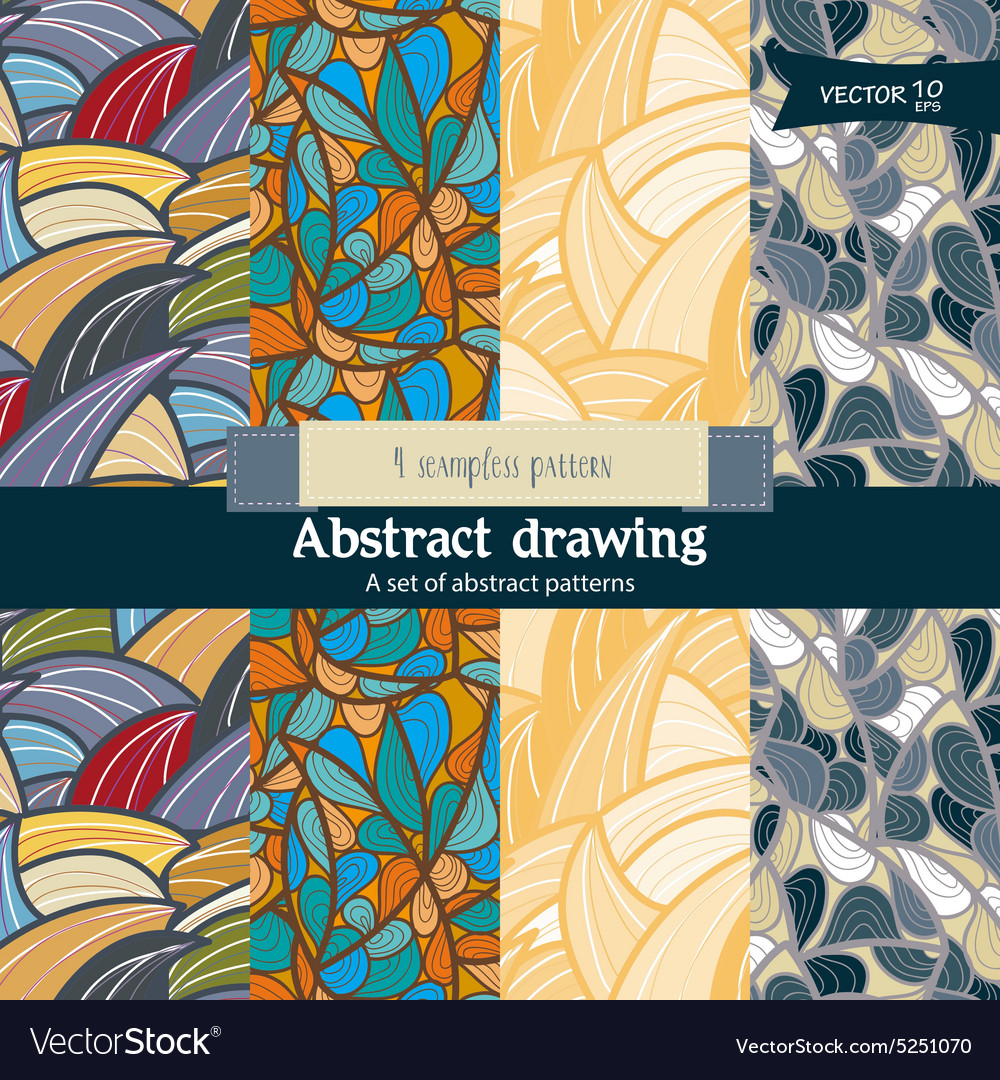 Abstact pattern vector