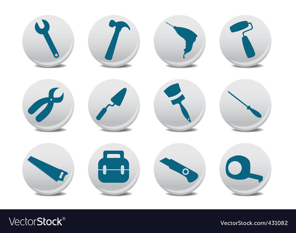 Professional instruments vector