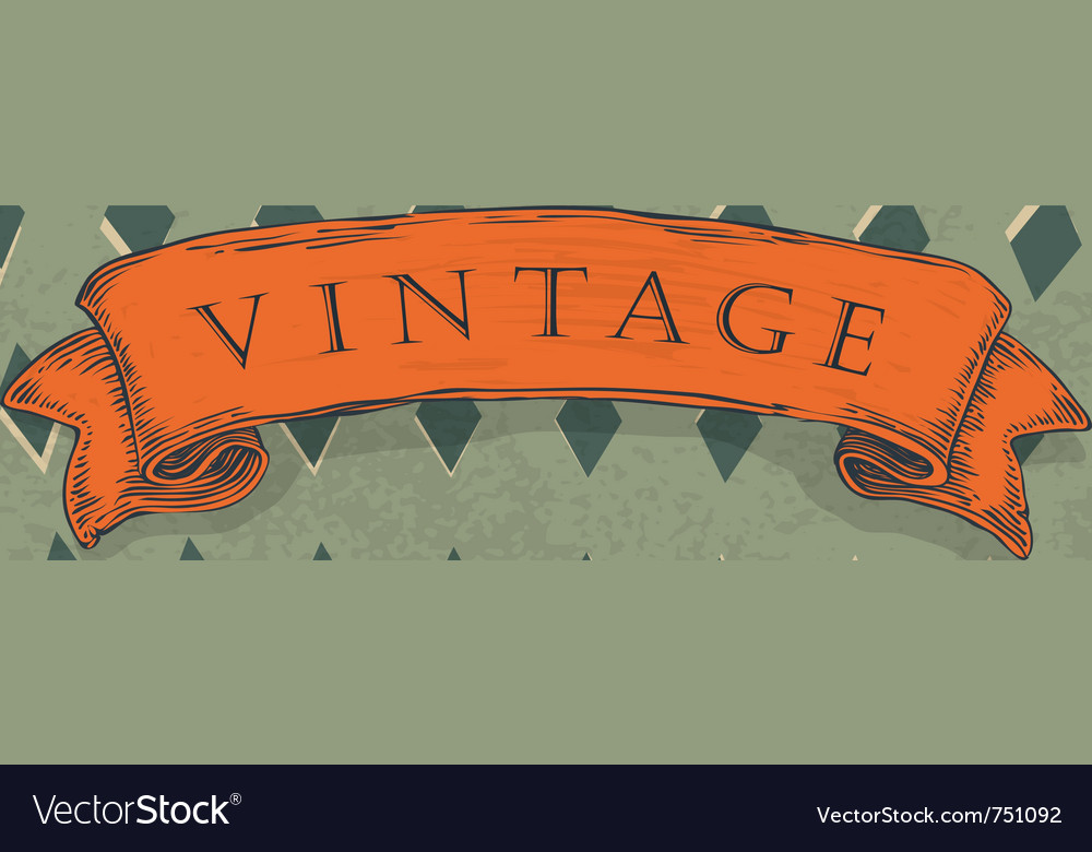Circus retro background vector