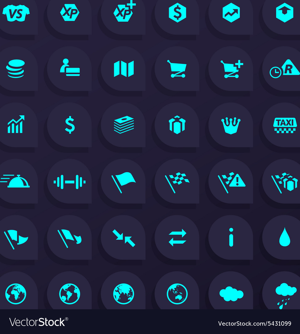 36 hi quality general any use icons  part 1 vector