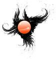 Black Icon for Design vector image