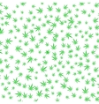 Green Cannabis Leaves Background vector image