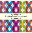 Scottish pattern 2 vector image