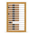 abacus old retro vintage icon stock vector image