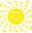background for text sun shining vector image