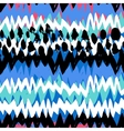 Grunge hand painted abstract pattern vector image