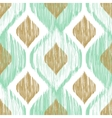 Seamless pattern Ikat ethnic background in vector image