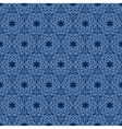 Arabesque floral pattern vector image
