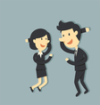 couple business vector image