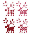 deer isolated for design prints labels vector image