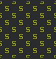 dollar pattern vector image