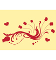 beautiful flower vector image vector image