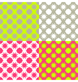 Bright checkered pattern vector image