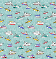 Abstract sea background summer maritime theme vector image