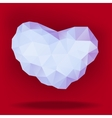 precious heart vector image