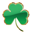 Shamrock or clover icon vector image